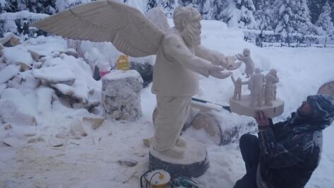Экспозиция деревянных скульптур «Обитель Ангелов» воронежского мастера откроется в Карелии
