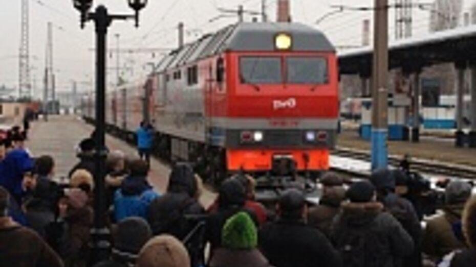 В Воронеж прибыл Олимпийский огонь