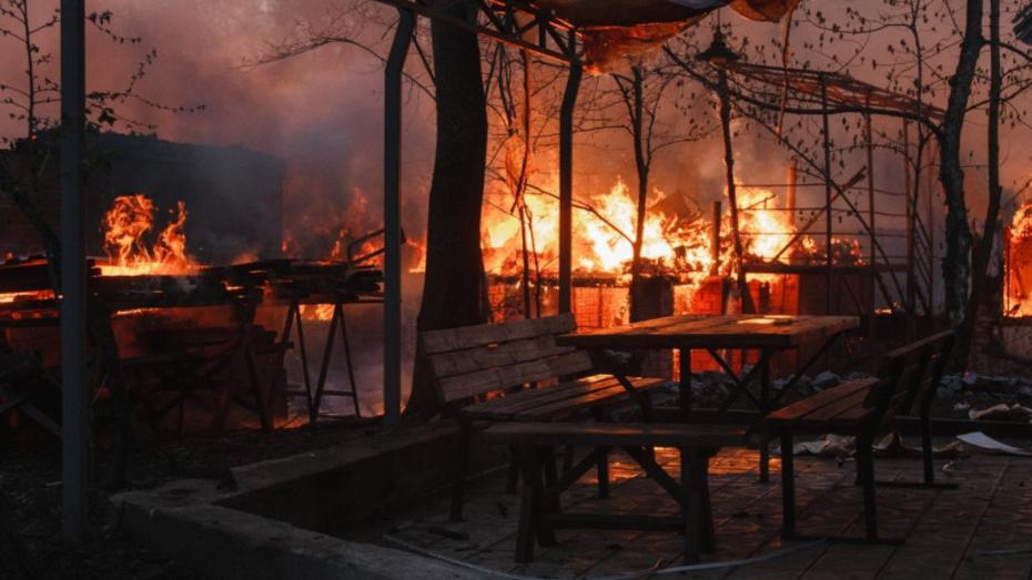 Причиной пожара в рыбацком поселке под Воронежем стал поджог