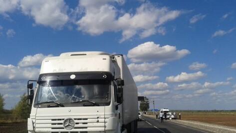 В Воронежской области Toyota столкнулась с грузовиком: двое погибли