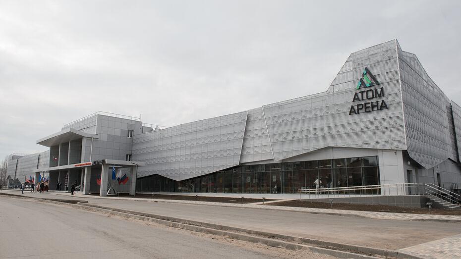 На строительство спорткомплекса с 3 бассейнами в Нововоронеже потратили 563 млн рублей