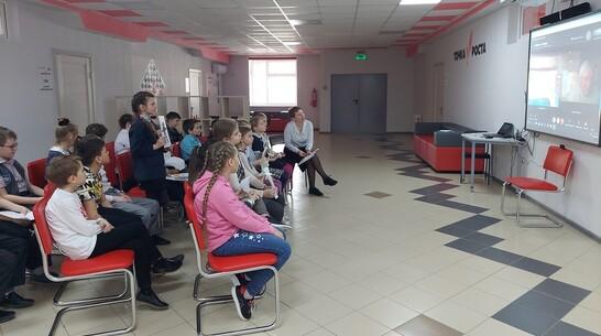 Детский писатель Андрей Саломатов пообщался онлайн с подгоренскими школьниками