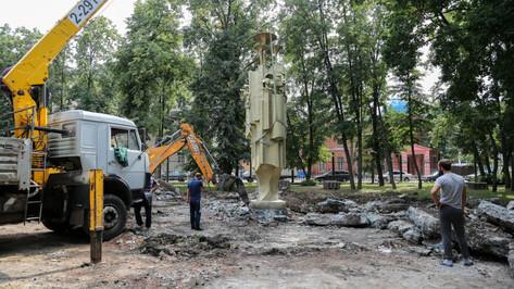 Воронежцам предложили выбрать место для фонтана с Чебурашкой и крокодилом Геной