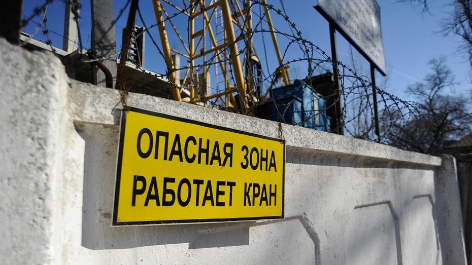 Спасатели: падение стрелы крана в Воронеже обошлось без пострадавших