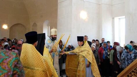 В храме Кантемировского района отслужили первую за 80 лет литургию