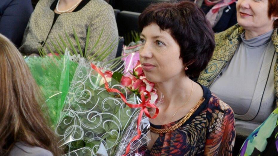 Лучшим учителем года в Грибановском районе стала Татьяна Бердникова