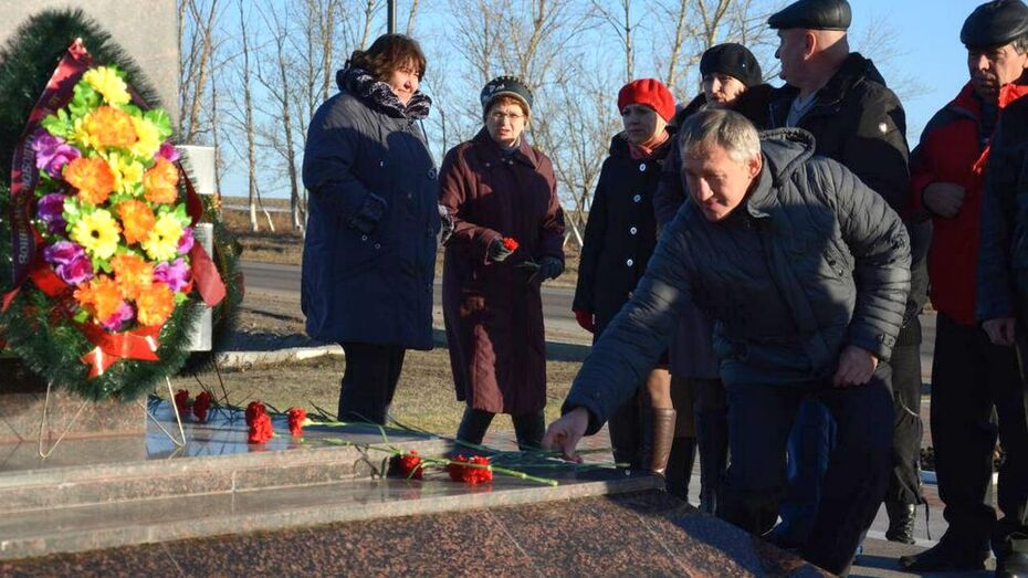 В Острогожске отметили День Героев Отечества