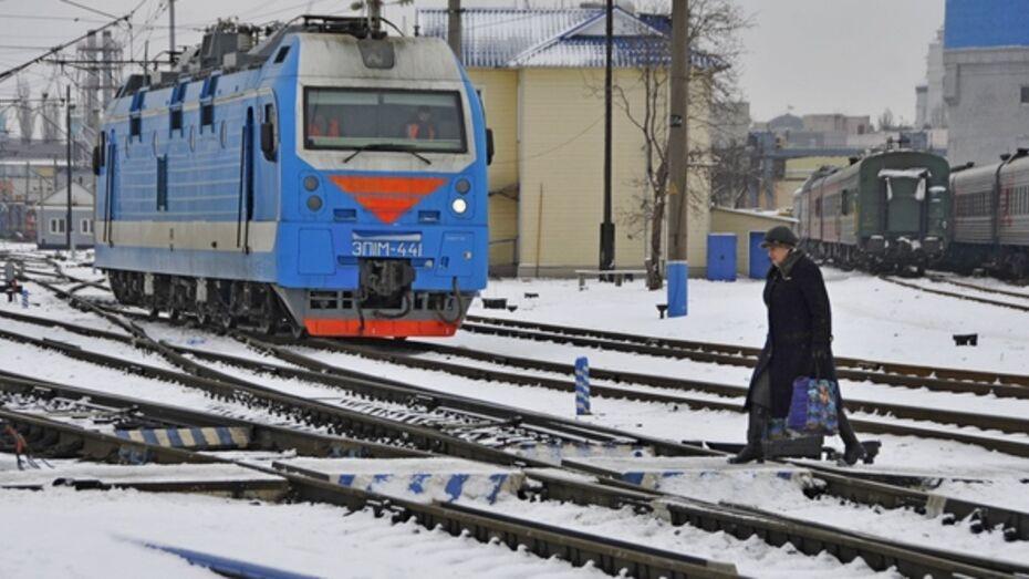Грузовой поезд сбил насмерть жителя Бобровского района
