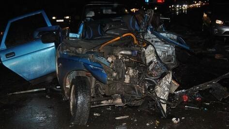 В ДТП под Рамонью один человек погиб и трое получили травмы