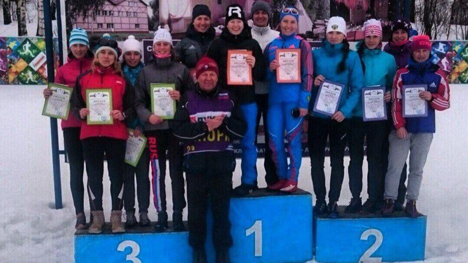 Воронежская лыжница завоевала «бронзу» на чемпионате ЦФО