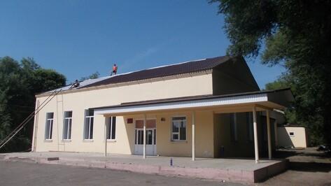 В верхнемамонском селе Гороховка впервые за 60 лет капитально отремонтируют Дом культуры