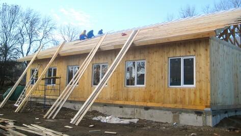 В семилукском селе в декабре сдадут в эксплуатацию новую амбулаторию