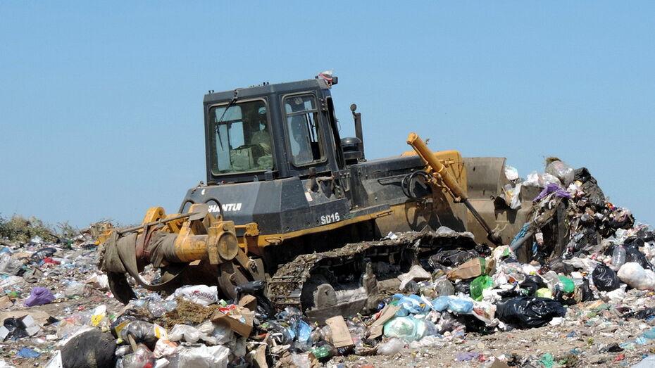 На мусорном полигоне рядом с аэродромом в Воронежской области не устранили эконарушения