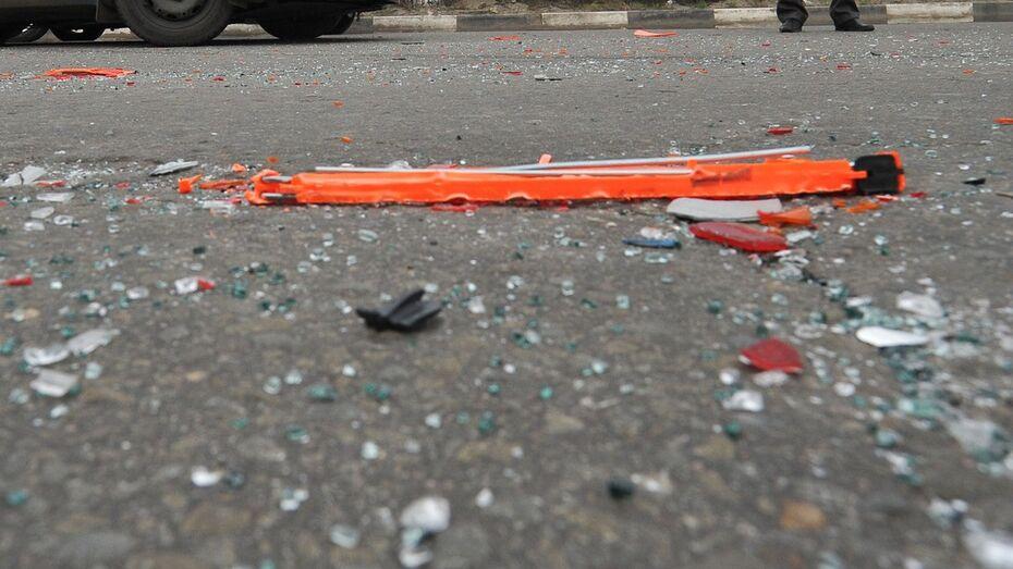 «Газель» сбила пешехода на трассе в Воронежской области