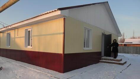 В поворинском селе Самодуровка администрация справила новоселье
