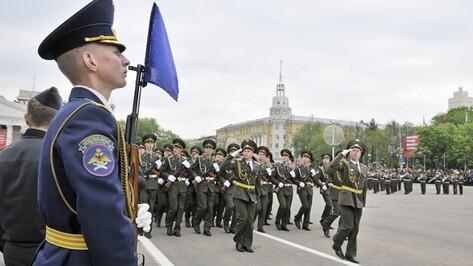 Триста военнослужащих пройдут 9 мая по проспекту Революции