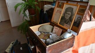 Острогожские школьники создали мобильную экспозицию «Музей в солдатском чемодане»