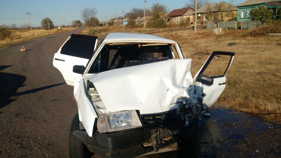 Водитель «девятки» погиб в ДТП в воронежском селе