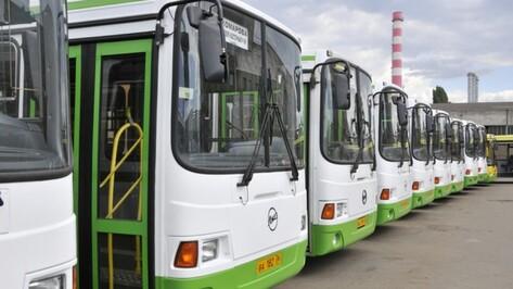 Власти закупят 30 автобусов после ввода платных парковок в Воронеже