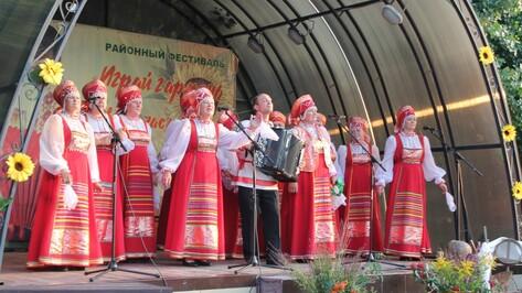 Фестиваль «Играй, гармонь» собрал в Хохольском районе более тысячи человек