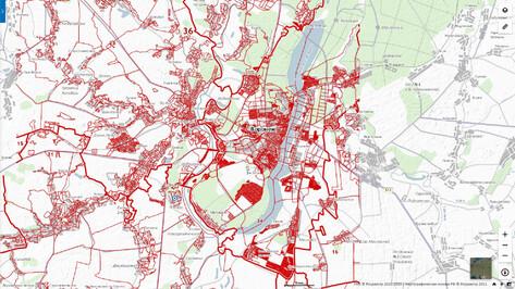 Воронежцам рассказали, как отличить кадастровую карту от двойников