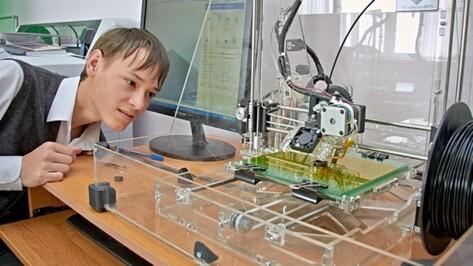Школы Воронежской области получили полсотни 3D-принтеров