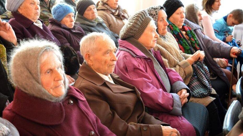 Верхнехавские ветераны получили памятные медали к юбилею Победы