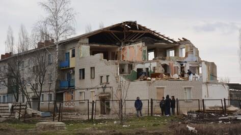 На восстановление дома в Россоши, поврежденного в результате взрыва газа, потратят 12 млн рублей