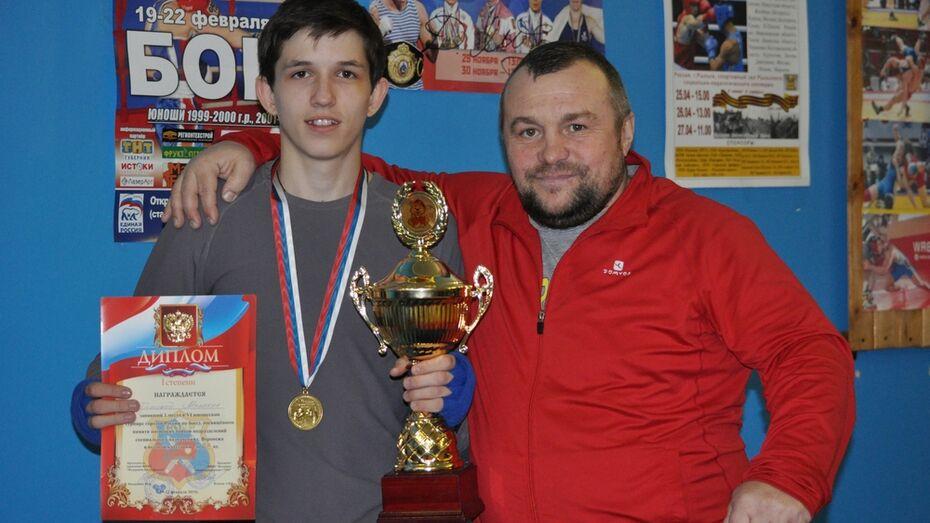 Репьевский боксер стал победителем межрегионального юношеского турнира