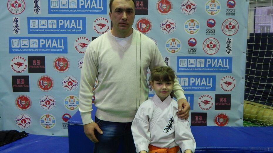 Поворинская каратистка заняла третье место на турнире в Волгограде