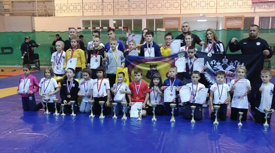 Лискинские борцы привезли 4 «золота» с открытого турнира Московской области