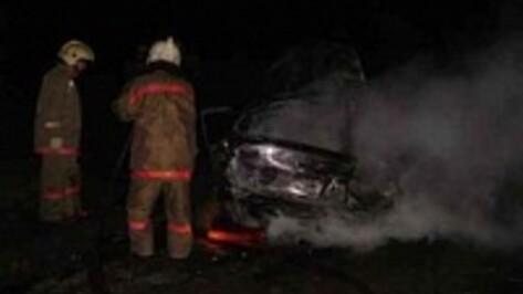 В Семилуках сгорела «Лада Приора»