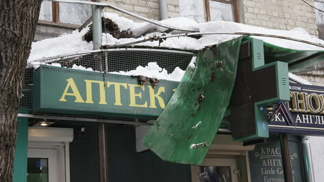 Власти Воронежа помогут управляющим компаниям очистить от снега крыши многоэтажек