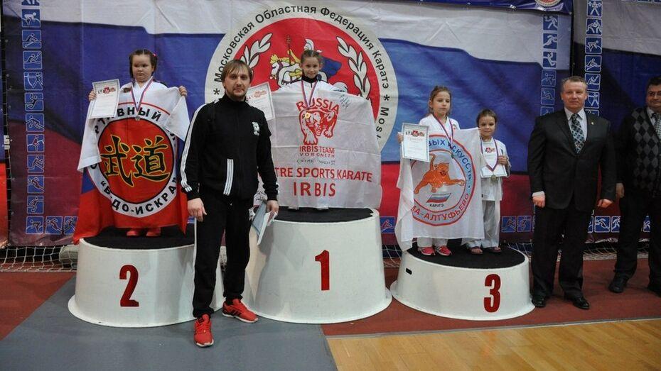 Воронежские каратисты привезли 10 медалей с турнира Подмосковья