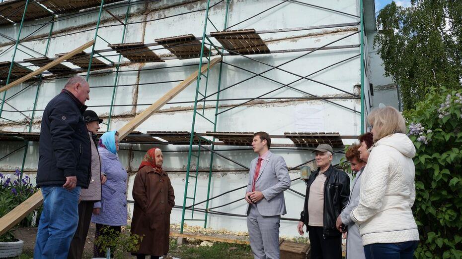 Жители многоквартирного дома в Богучаре приостановили капитальный ремонт