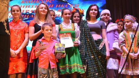 В Воробьевке впервые состоялся конкурс исполнителей песни на иностранных языках