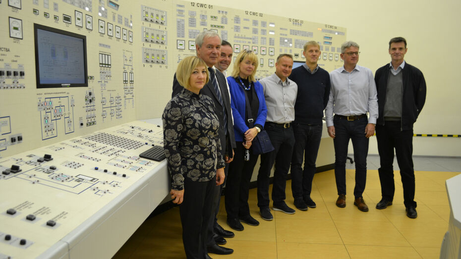 Специалисты немецкой АЭС посетили Нововоронежскую атомную электростанцию