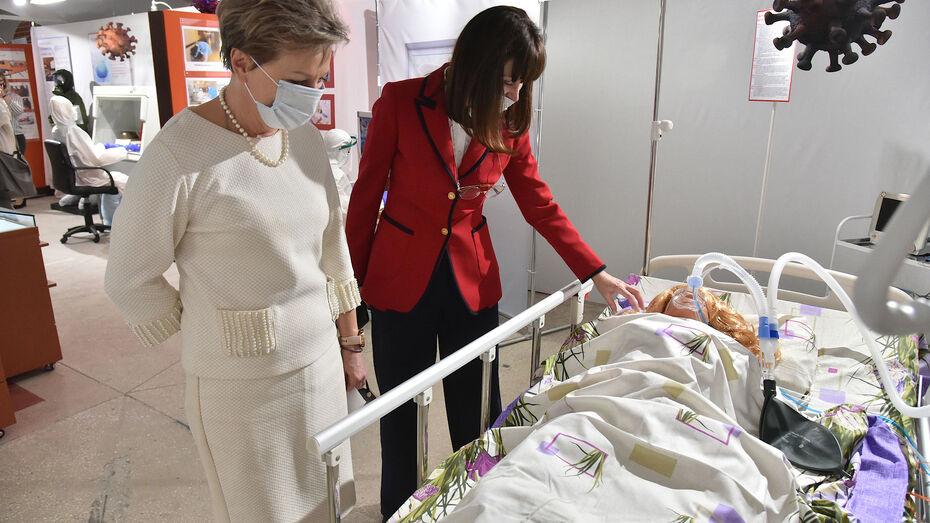 Оперштаб: в воронежских больницах лежат почти 4 тыс COVID-пациентов