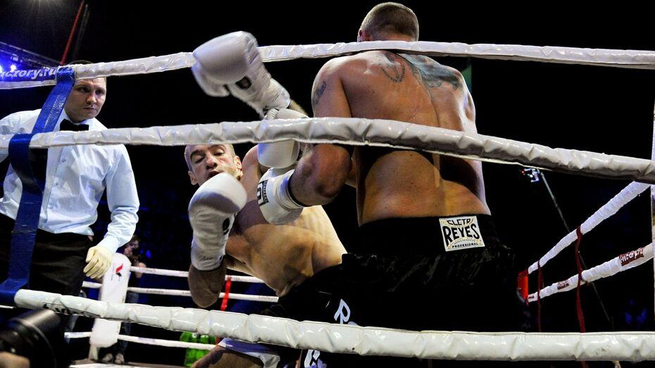 Два воронежских боксера победили на турнире Fights of the future