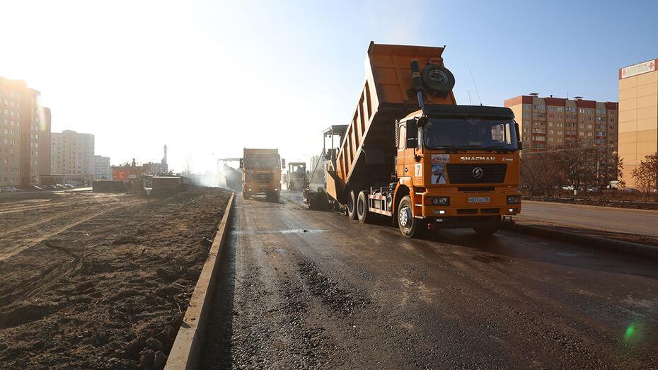 Реконструкцию улицы Острогожской в Воронеже завершат к середине декабря