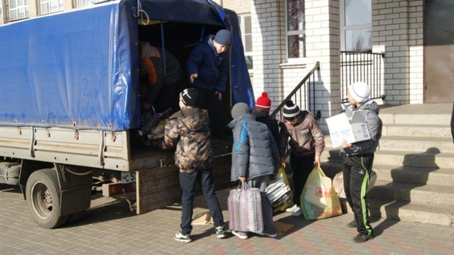 В Поворинском районе стартовала ежегодная акция по сбору макулатуры