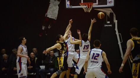 Воронежская баскетбольная команда опустилась в низший профессиональный дивизион