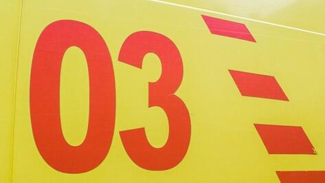 В Семилуком районе в ДТП пострадал 4-летний малыш
