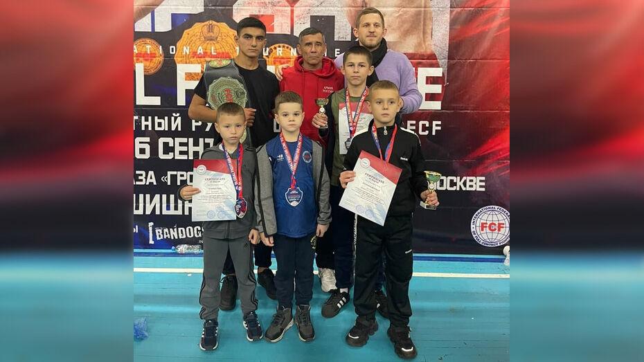 Лискинцы привезли 4 «золота» с международного турнира по полноконтактному рукопашному бою