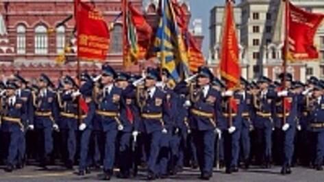 Бутурлиновец принял участие в параде Победы на Красной площади