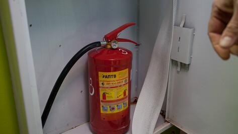 Воронежская прокуратура обнаружила нарушения правил пожарной безопасности в школах и ТРЦ