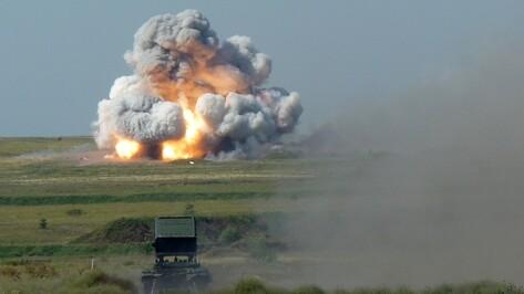В Воронежской области завершился конкурс огнеметчиков «Огненная земля»