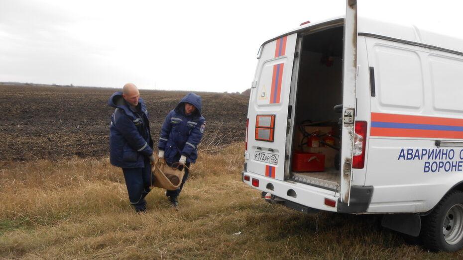 В Воронежской области механизатор наткнулся в поле на 100-килограммовый артснаряд