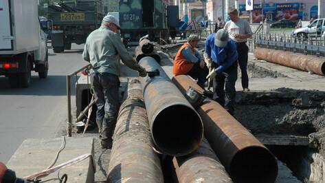 В Воронеже без воды останутся 15 домов, гимназия и больница