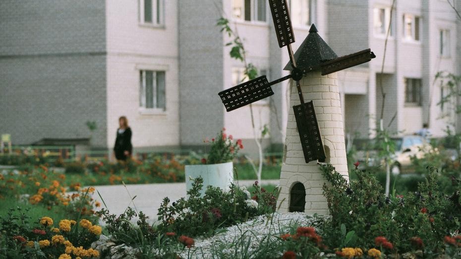 Конкурс самых красивых дворов, улиц и цветников объявили в Воронежской области